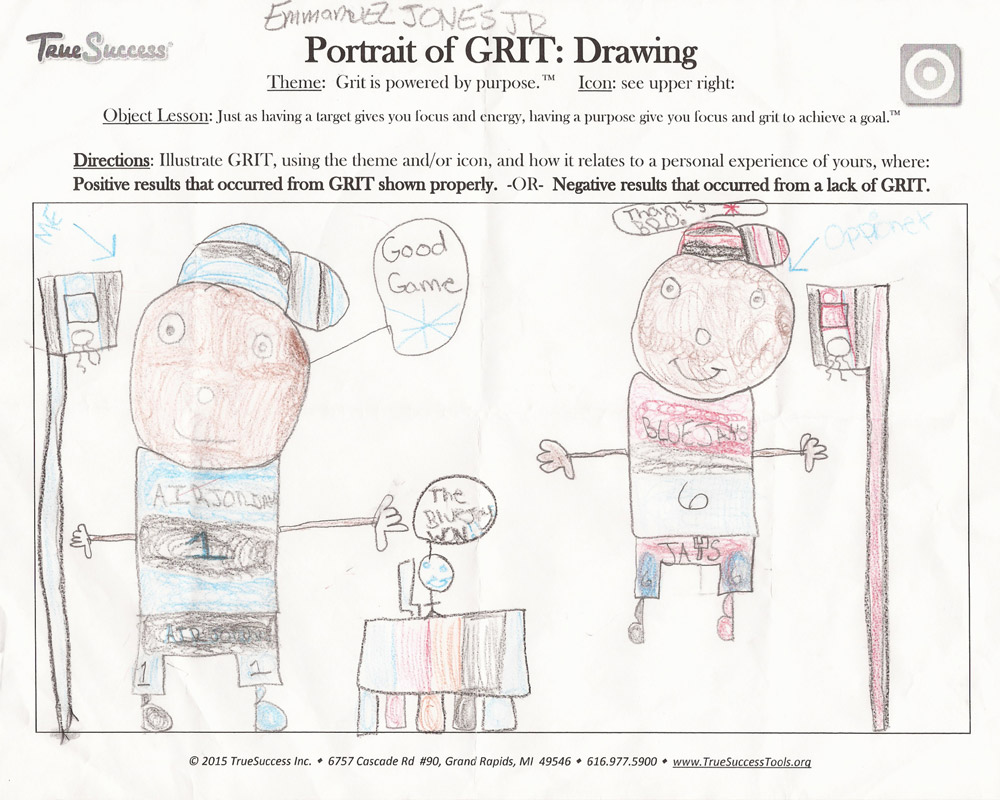 Emmanuel's Portrait of Grit