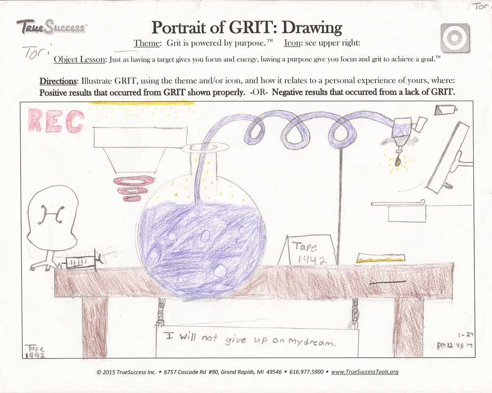 Tori's Portrait of Grit