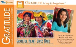 Sample gratitude poster
